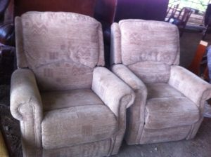 reclining arm chairs