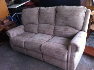 reclining 3 seater sofa £150 set